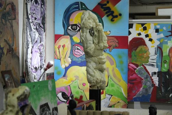 Obra pictórica y escultórica